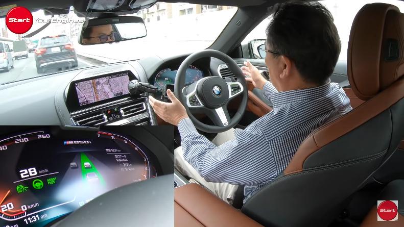 BMWの世界初ハンズ・オフ機能付き(ハンズフリー)渋滞時運転支援の清水和夫氏の試乗レポート動画がわかりやすい^^
