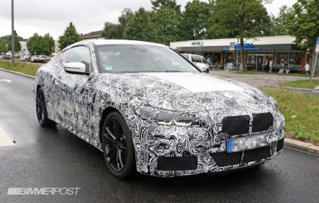BMW次期4シリーズクーペ(G22)のスパイショット!