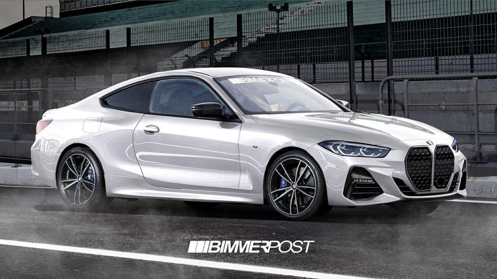 新型BMW4シリーズクーペ(G22)の予想CG!スパイショットから作成したカモフラージュ無しのデジタルプレビュー画像が結構衝撃的^^;