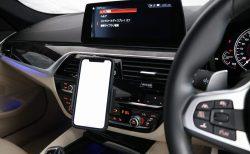 CD/DVDスロットに取付型のスマホホルダー(iPhone,Android用)をBMW G31に取り付けたのでレビュー!かなりいい感じです♪