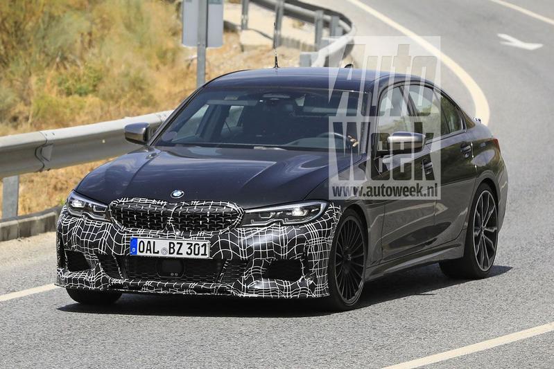 新型BMWアルピナB3(G20)の初のスパイショット!?今年の東京モーターショーで見られそうですね♪