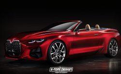 BMW新型コンセプトカ4シリーズベースのカブリオレとシューティングブレーク!?