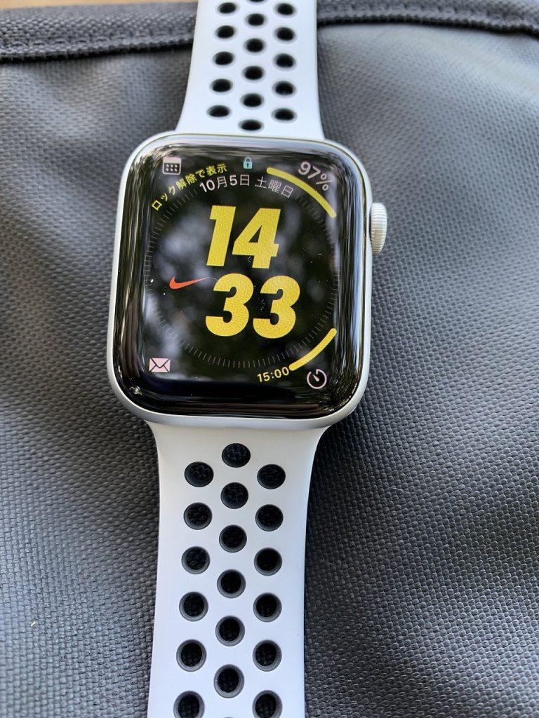 Apple Watch Nike Series 5(GPSモデル)購入しました^^開封レビュー!