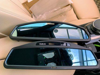 新型ワイドミラーBMW「Studie Wide Angle Rear View Mirror Type2」が届いたので早速開封&装着&初代と比較してみました^^