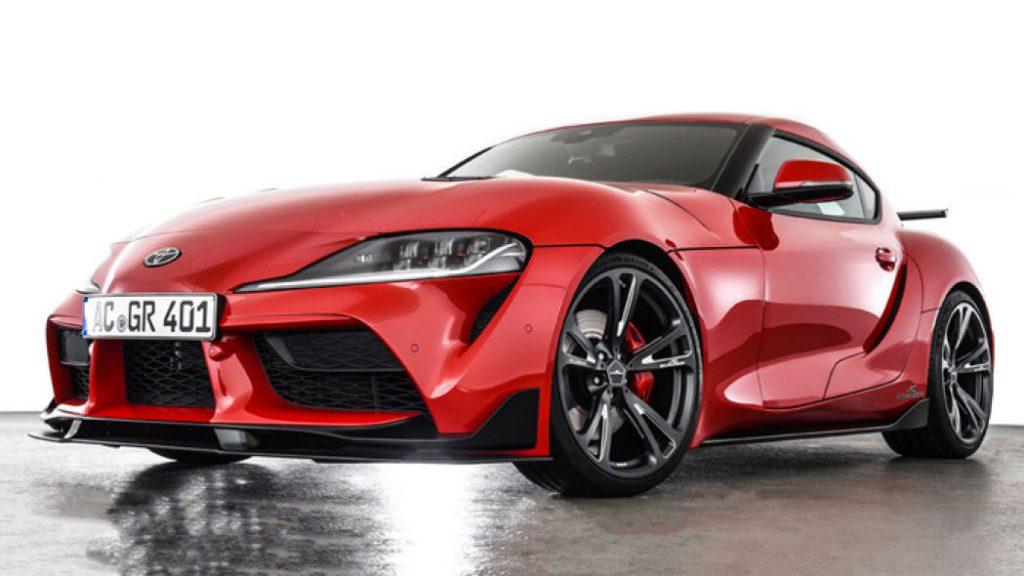 トヨタGRスープラ向けのACシュニッツァー製パーツ発売!圧倒的存在感&チューニングで400馬力に^^