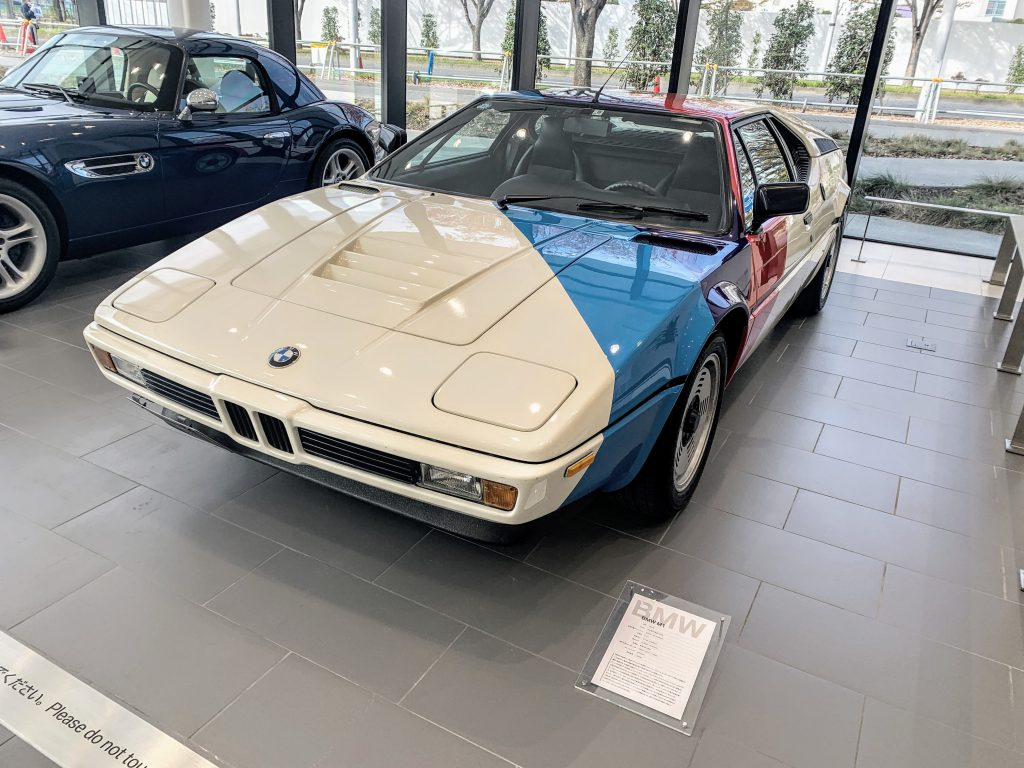 伝説の名車BMW Z8にM1!珍しい展示車両に大興奮でした♪【BMW Group Tokyo Bay】