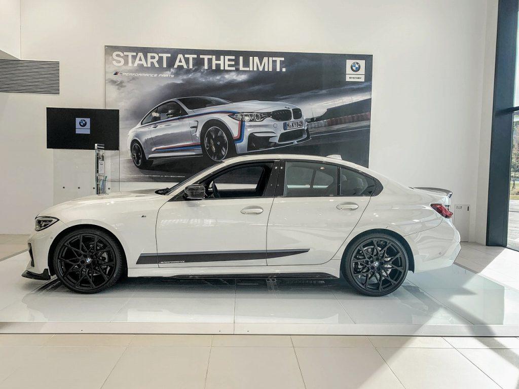 Mパフォーマンスパーツフル装備のBMW3シリーズセダンG20「320i」の展示車を見てきました^^【BMW GROUP Tokyo Bay】