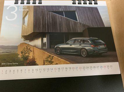 BMW2020年卓上カレンダーをGet!歴代BMW卓上カレンダーも振り返る。