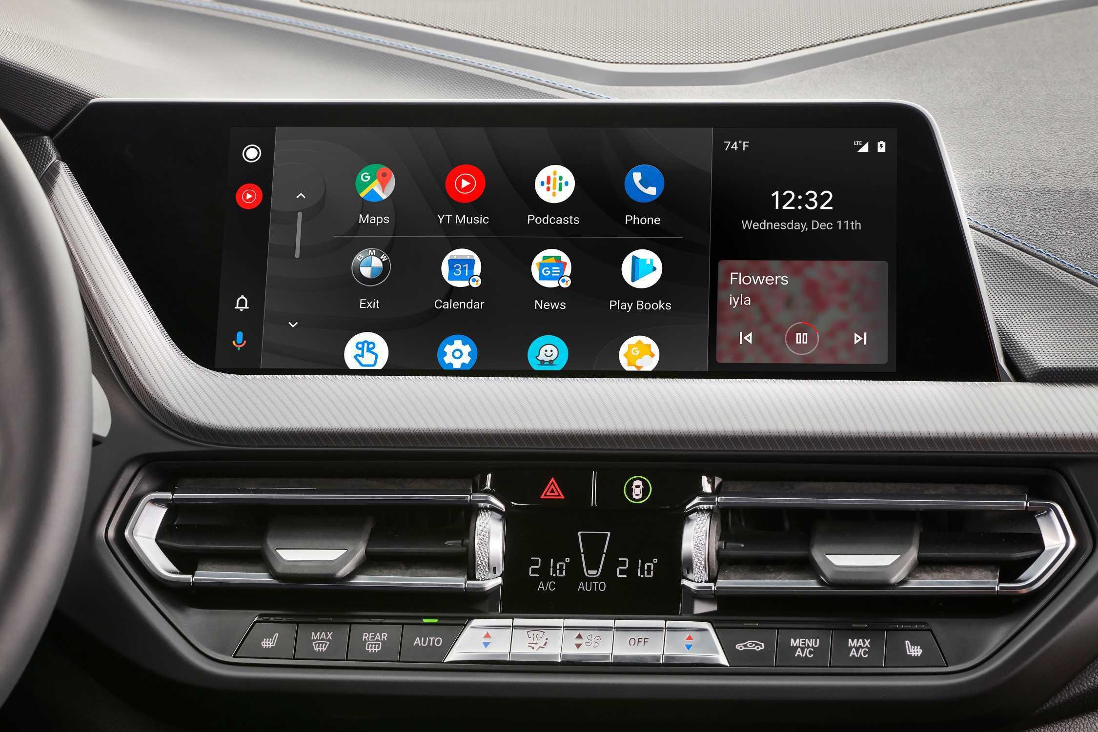 【祝】BMWにAndoroidユーザー待望の「Android Auto」がとうとう車載化!