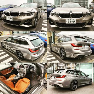 新型BMW3シリーズツーリングG21ディーゼルモデル(320d xDrive)を首都高試乗してきました^^【外装・内装チェック】