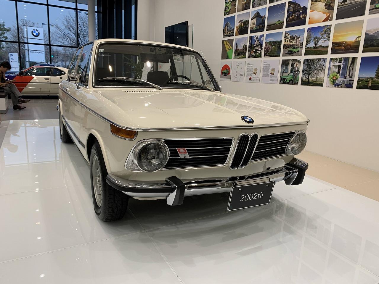 名車「マルニ」BMW 2002 tiiの展示車を見てきた^^