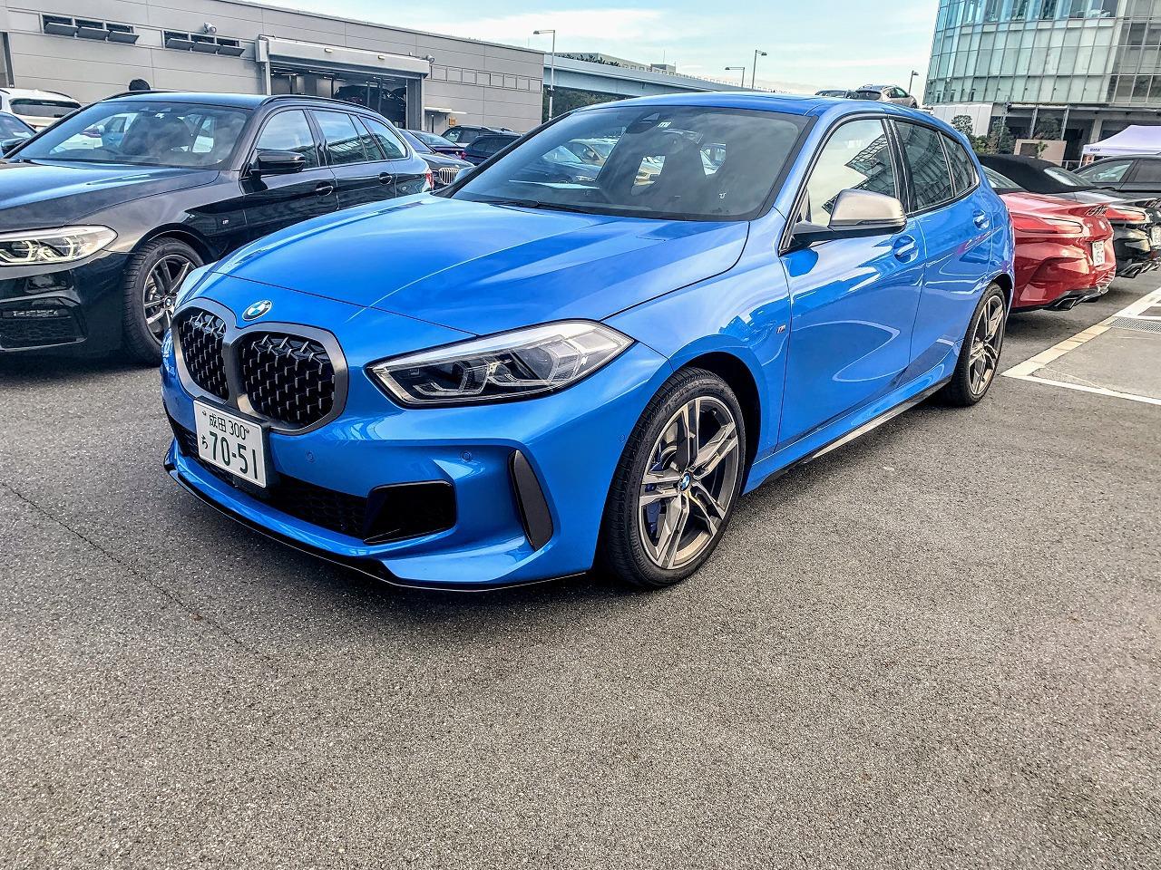 【後編:M135i高速試乗編】BMW新型1シリーズ(F40)「118i M Sport」「M135i xDrive」をBMW Tokyo Bayで比較試乗してきました^^