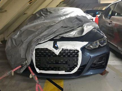 次期型BMW新型4シリーズクーペ(G22)の市販版のフロント・リア写真がリーク!?やはり超巨大キドニーグリルが現実に・・・