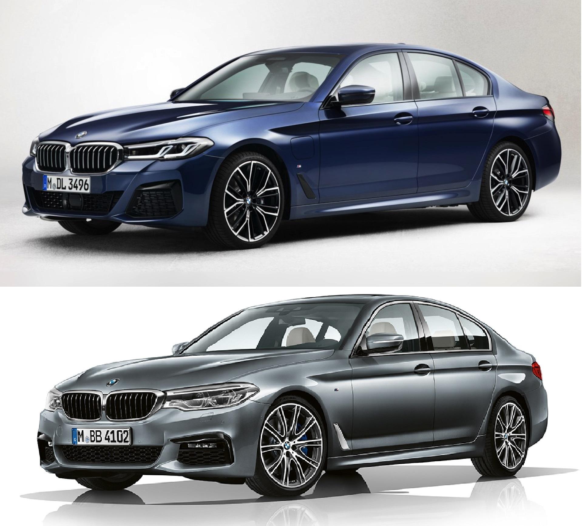 BMW5シリーズ(G30)LCI画像がリーク!?デザインはマイナーチェンジらしく小変更レベルになりそうですね^^;