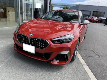 本日写真解禁!BMW2シリーズグランクーペ(F44)正式デビュー^^私が試乗したメルボルン・レッドの写真も公開!