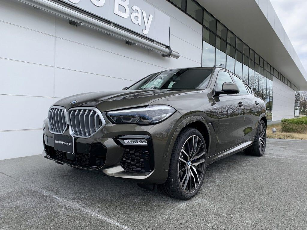 BMW新型X6 xDrive35d M Sportの展示車を拝見!フラッグシップSUVクーペらしい圧倒的な存在感♪