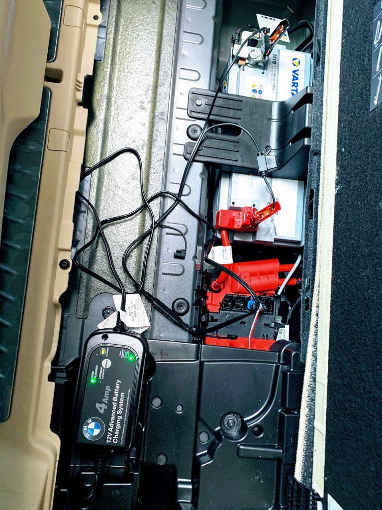 2週間ぶりに愛車BMW5シリーズツーリングG31-530iを運転しました♪一応バッテリーは定期的にチャージしています^^;