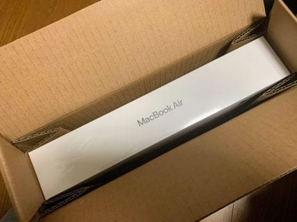 新型MacBook Air2020 CTOモデルが届きました^^開封&使用感レビュー!
