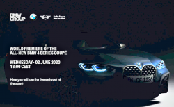 新型BMW4シリーズクーペ(G22)のカタログ写真がリーク!!巨大キドニーグリルが現実に(^_^;)