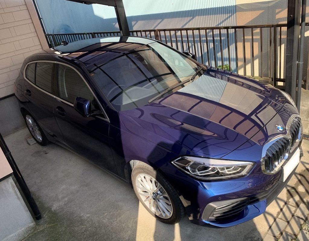 愛車BMW530i(G31)初回車検の代車はBMW新型1シリーズ(F40)118i PLAY!