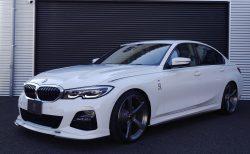 新型BMW3シリーズ320i(G20)の3D Designのデモカー(装着パーツ総額150万円)が100万円値下げで販売中!!