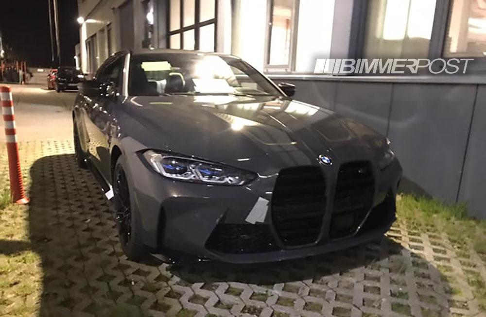 BMW新型M4(G82)のカモフラージュ偽装なし写真がリーク!ド迫力ですが・・・