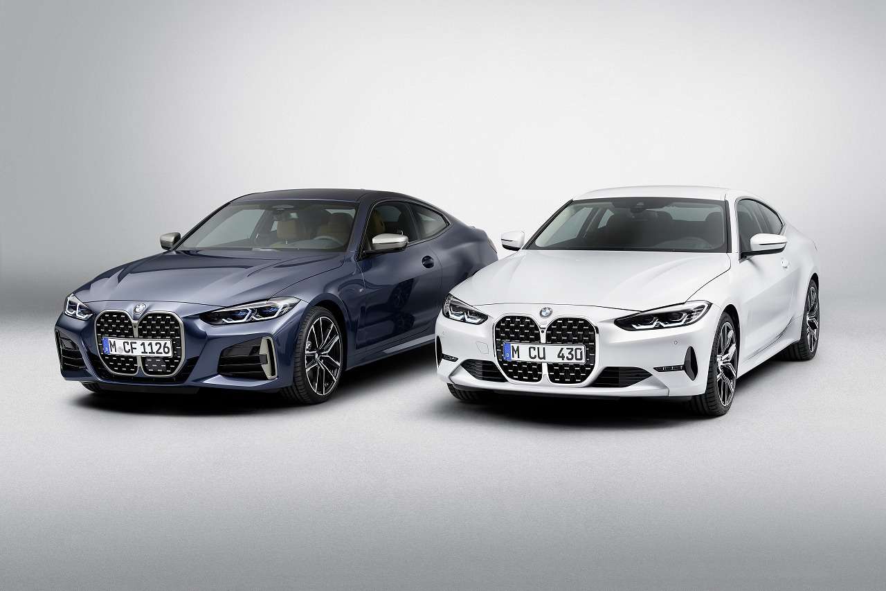 巨大キドニーグリル新型BMW4シリーズクーペ(G22)がとうとうワールドプレミア!良いも悪いも新時代のBMWを切り開きそうですね^^;