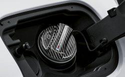 BMW Mパフォーマンス製カーボンフューエルキャップカバーがカッコいい!!