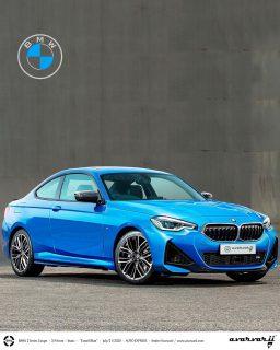 新型BMW2シリーズクーペのむき出しのフロントデザインがリーク!!