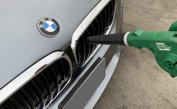 愛車BMW G31を泡洗車しました♪水滴飛ばしにピッタリなリーズナブルなブロア「KIMO充電式コードレスブロワ」^^