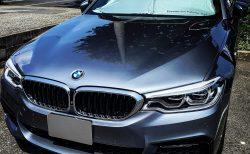 真夏の必須アイテム!サンシェード。BMW純正品をもう9年も愛用しています^^