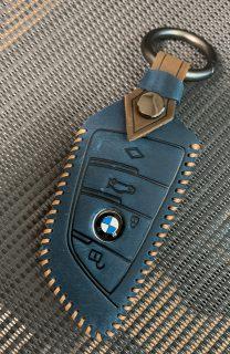 BMWスマートキーケースカバーを買い替えました^^「ONTTO クレージホースレザーキーケース」開封レビュー!