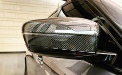 BMW5シリーズツーリング(G31)に「Jパーツプロジェクト・リアルカーボン製ドアミラーカバー」取付けました♪装着レポート!