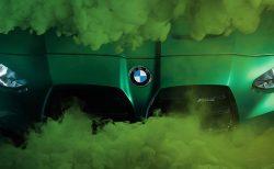 新型BMW M3(G80)M4(G82)ワールドプレミアは9/23(水)で確定!公式ティザー写真でM3のキドニーグリル形状も判明しました^^