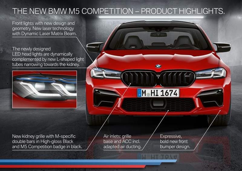 BMW M5/M5コンペティション/M550i xDrive LCIモデルも発売開始!価格は?