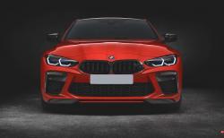 新型BMW M3(G80)M4(G82)向け通常サイズのキドニーグリルのフロントバンパーを開発中で販売予定あり!