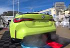 新型BMW M4コンペティション(G82)のエンジン始動時や吹かした際のエキゾーストノートの爆音度が凄い!