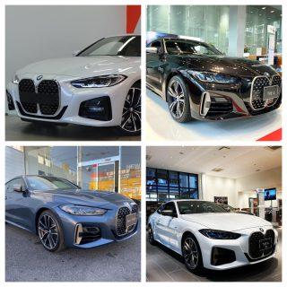 BMWディーラーにて新型BMW4シリーズ(G22)デビューフェア開催中!既に試乗できる店舗も^^