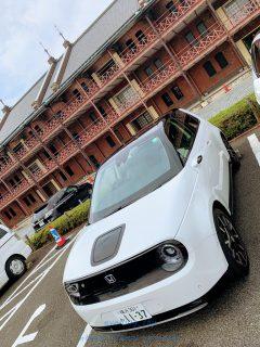 発売前の新型EV車「Honda e」試乗インプレ!横浜ドライブ編レポート