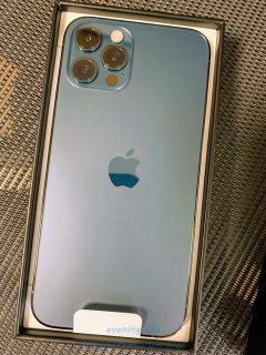 「iPhone12pro」発売日に到着しました\(^o^)/開封レポート!パシフィックブルーが美しい♪MVNO格安SIMのIIJmioでも問題なく使えました^^