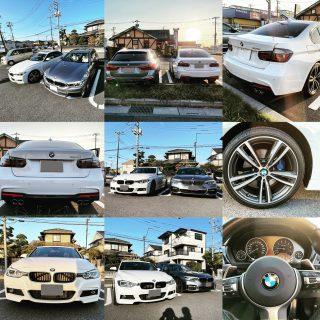 BMW3シリーズセダンF30-320i Mスポーツ納車♪