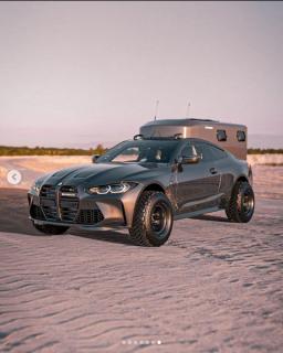 BMW新型M4(G82)のキャンピングカー!?ありかもw