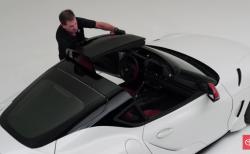 トヨタがスープラのオープンモデル公開!「エアロトップ」復活の「GRスープラ スポーツトップ」!