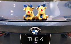 BMWクリスマス・フェア2020のスクラッチでもれなくBMWオリジナルトナカイのぬいぐるみが当たる^^