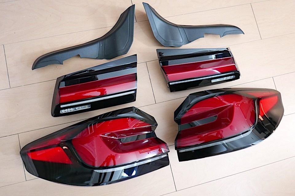 BMW5シリーズG30(M5 F90)純正LCIテールライト後付キットが販売中!