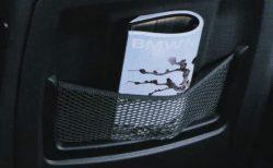 BMWにはフロントシートバックネット(収納ネット)がついていないモデルあるのは流石にどうかと(^_^;)