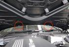 BMWのウィンドウ ウォッシャー噴射角度の調整方法!ウォッシャー液がルーフまで飛び散らなくて良さげ^^
