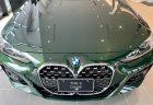 「サンレモ・グリーン」のBMW新型4シリーズクーペ(G22)のBMW調布展示車が美しい!!