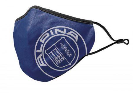 世界限定500枚ALPINAコミュニティマスク発売!価格も良心的でダークブルーにALPINAのロゴが素敵です♪