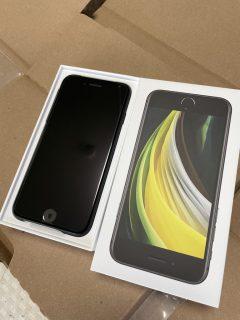 Apple初売りで買ったiPhone SE(第2世代)が届いたので開封レポート^^